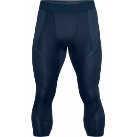 1306391-408_Bas de compression 3/4 Under Armour Threadborne Seamless Bleu Navy pour homme