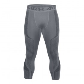 1306391-513_Bas de compression 3/4 Under Armour Threadborne Seamless Gris pour homme