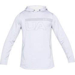 1306445-100_Sweat à capuche Under Armour MK1 Terry Graphic Hoodie Blanc pour homme