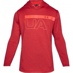 1306445-629_Sweat à capuche Under Armour MK1 Terry Graphic Hoodie Rouge pour homme