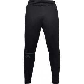 1306447-001_Pantalon Under Armour MK1 terry Tapered Noir pour Homme