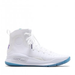1298306-108_Chaussure de Basketball Under Armour Curry 4 Blanc pour homme