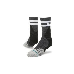M359A17GAM_Chaussettes de Basketball Stance Basketball Game Time Low Quarter Noir