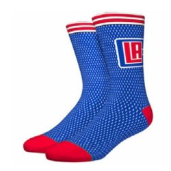 M545D17CLI_Chaussettes NBA Los Angeles Clippers Stance Arena Jersey Bleu