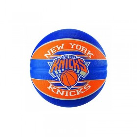 83-509Z_Ballon de Basketball exterieur Spalding NBA New York Knicks Bleu taille 7