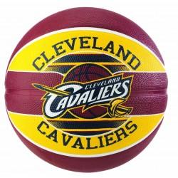 83-504Z_Ballon de Basketball exterieur Spalding NBA Cleveland Cavaliers Rouge taille 7
