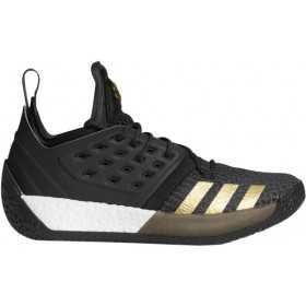 "AH2215_Chaussure de Basketball adidas James Harden Vol.2 ""Imma be a star"" Noir pour homme"