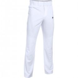 1281190-100_Pantalon de Baseball pour Junior Under Armour Lead Off Blanc