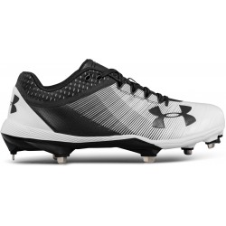 3000353-001_Crampons de Baseball métal Under Armour Yard Low DT Noir Pour Homme