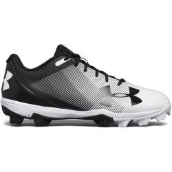 1297317-011_Crampons de baseball moulés Under armour Lead off RM low 2018 RM Noir et blanc pour Homme
