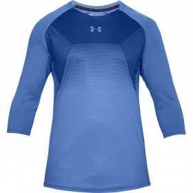 1306417-584_T-shirt manche 3/4 Under Armour Threadborne Vanish Bleu pour homme