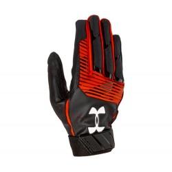 1299530-004_Gant de Batting Under Armour Clean-Up VI Noir Orange pour le Baseball et Softball
