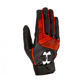 1299530-004_Gant de Batting Under Armour Clean-Up VI Noir Orange pour le Baseball et Softball