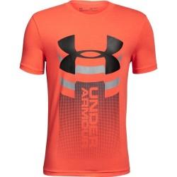 1310271-847_T-shirt pour enfant Under Armour Vertical logo Orange