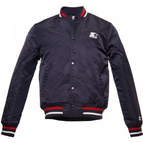 Jacket Nylon Starter Navy / Red
