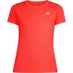 1285637-985_T-shirt Under Armour Heatgear orange pour femme