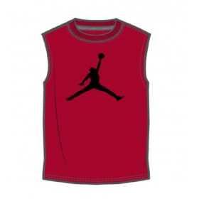 camisetas de baloncesto para nino Jordan Core Jumpman rojo
