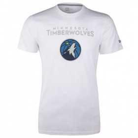 11546146_T-Shirt NBA Minnesota Timberwolves NewEra Blanc pour Hommes