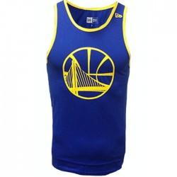 11569509_Débardeur NBA Golden State Warriors New Era Team apparel pop logo Bleu pour Homme