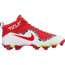 AH7007-661_Crampons de baseball moulés Nike Force Trout 4 Keystone rouge