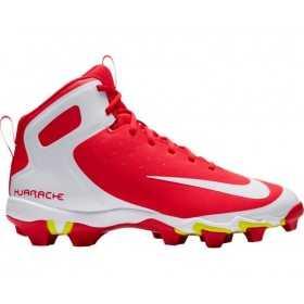 923429-611_Crampons de baseball moulés Nike Alpha Huarache Keystone Mid rouge