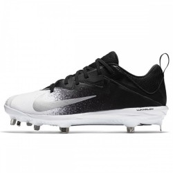 best website 276c2 2bc92 Crampons de Baseball métal Nike Lunar Vapor UltraFly Low Noir Blanc Pour  Homme