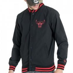 11569505_Bomber NBA Chicago bulls New Era Varsity pop Logo noir pour Homme