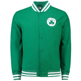 11569507_Bomber NBA Boston Celtics New Era Varsity pop Logo Vert pour Homme
