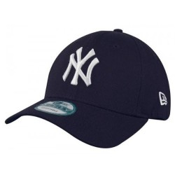 11546029_Casquette MLB New York Yankees New Era essential 9forty bleu pour enfant à scratch