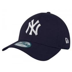 11546029_Casquette MLB New York Yankees New Era essential 9forty bleu pour enfant à scratch