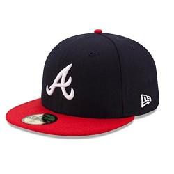 70361069_Casquette MLB Atlanta Braves New Era authentic performance 59fifty Bleu