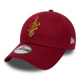 80581027_Casquette NBA Cleveland Cavaliers New Era Team Essential 39thirty Rouge