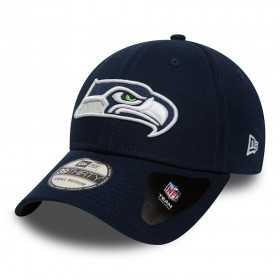 80581029_Casquette NFL Seattle Seahawks New Era Team Essential 39thirty Bleu Marine