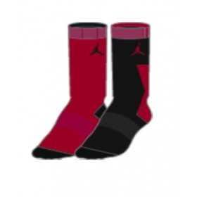 UJ0006-023_Chaussettes Jordan Crew Noir red pour enfant