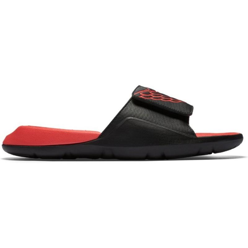 size 40 7d36c 5a77f AA2517-023 Sandales Jordan Hydro 7 Slide Tech Noir infrared pour homme
