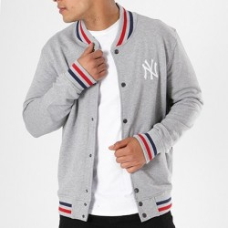 11569447_Veste MLB New York Yankees New Era Varsity Jacket gris