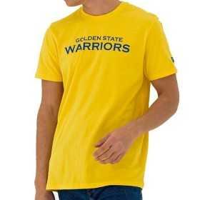 11569497_T-Shirt NBA Golden State Warriors New Era Team Apparel Pop jaune pour Homme