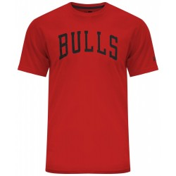11569499_T-Shirt NBA Chicago Bulls New Era Team Apparel Pop Rouge pour Homme