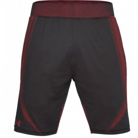 1306401-016_Short Under Armour Threadborne Seamless Noir Red pour homme