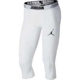 Bas de compression Jordan Dri 23 Alpha 3/4 Blanc pour homme
