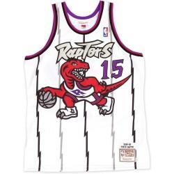 Maillot NBA swingman Vince Carter Toronto Raptors 1998-99 Hardwood Classics Mitchell & ness Blanc