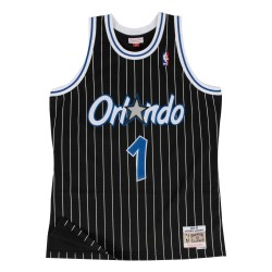 Maillot NBA swingman Anfernee Hardaway Orlando Magic 1994-95 Hardwood Classics Mitchell & ness noir