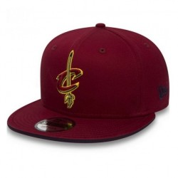 80581042_Casquette NBA pour enfant Cleveland Cavaliers New Era Classic Team Snapback 9fifty Rouge