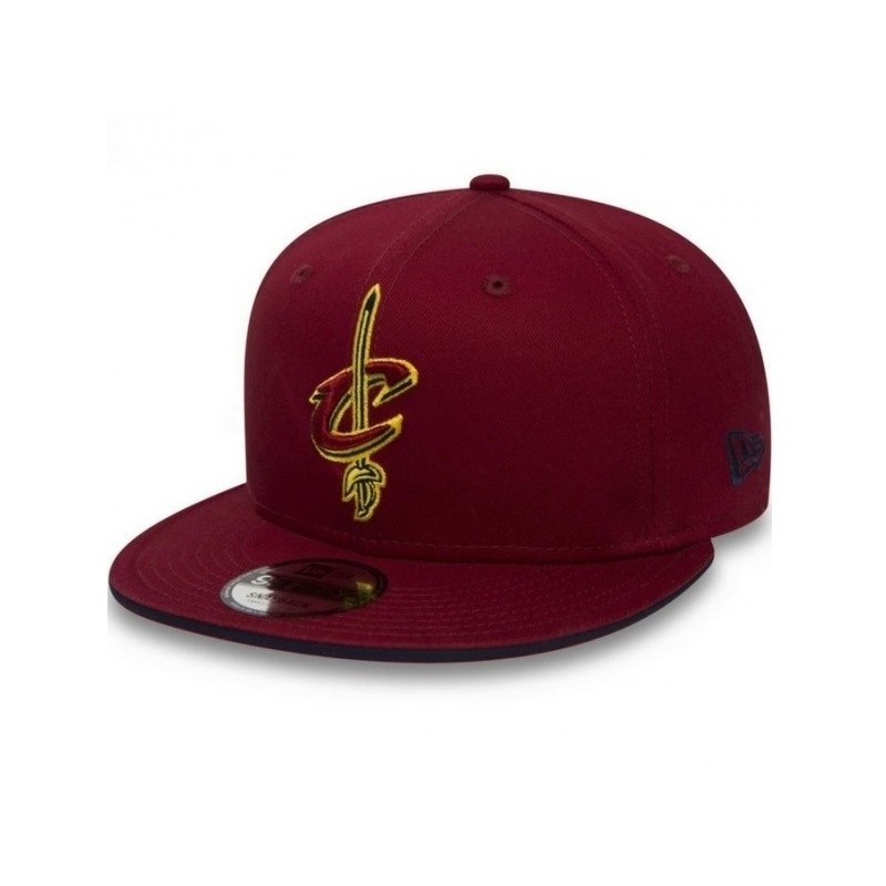 517f72ddfab40 80581042_Casquette NBA pour enfant Cleveland Cavaliers New Era Classic Team  Snapback 9fifty Rouge