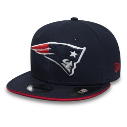 80581050_Casquette NFL New England Patriots New Era Classic Team Snapback 9fifty Bleu marine