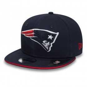 80581051_Casquette NFL New England Patriots New Era Classic Team Snapback 9fifty Bleu marine
