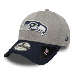 80580970_Casquette NFL Seattle Seahawks New Era Jersey Hex 39Thirty Gris
