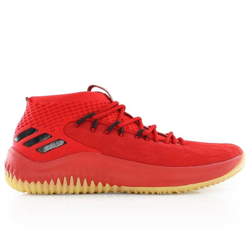 Adidas Basketball De 4 Dame Chaussures Pour Rouge Homme 1E7qw55