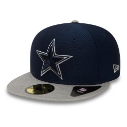 80581148_Casquette NFL Dallas Cowboys New Era Dryera Tech 59Fifty Bleu Marine