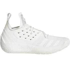 """AP9871_Chaussure de Basketball adidas James Harden Vol.2 """"Tri White"""" Blanc pour homme"""